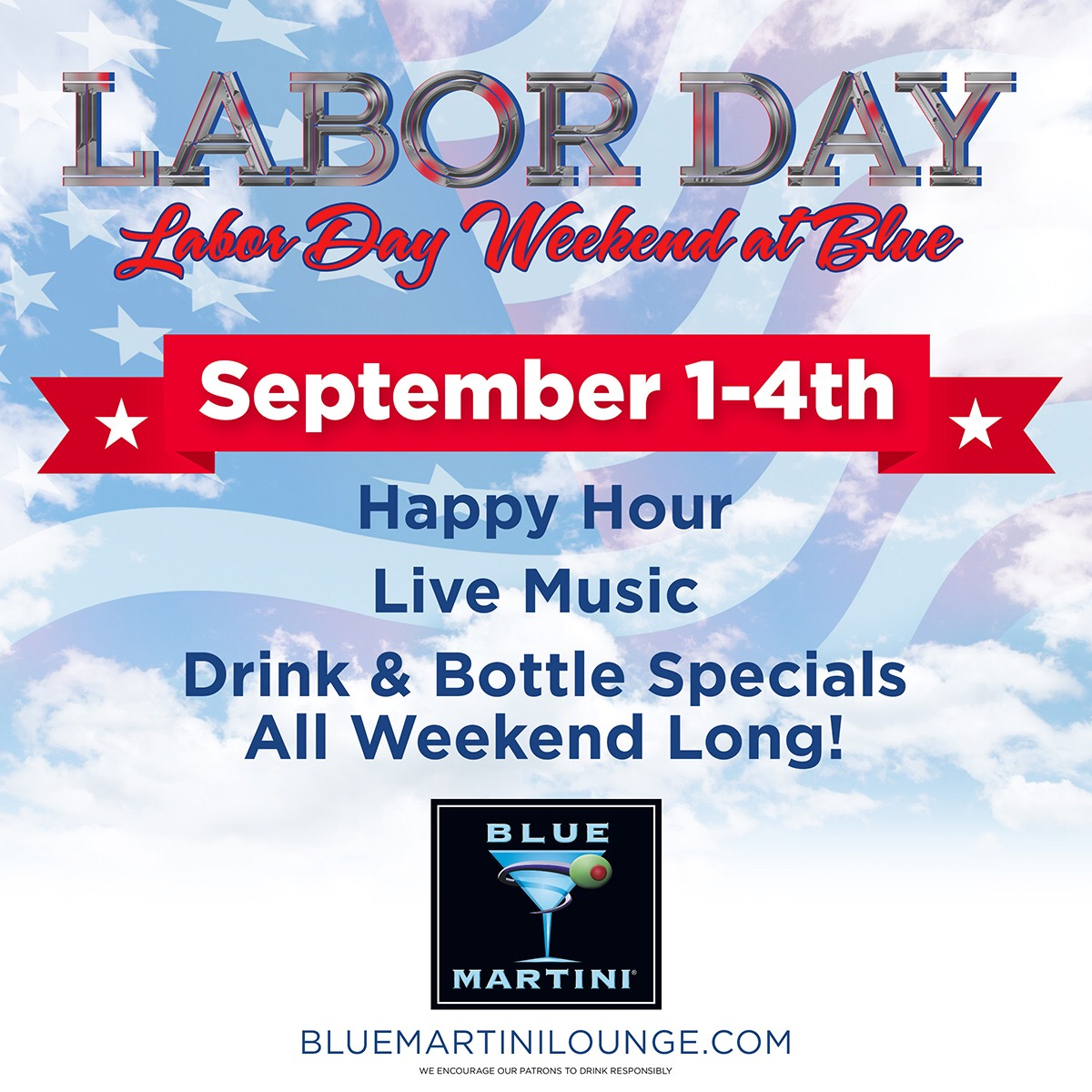 Celebrate Labor Day at Blue & Plan in Advance for the Holidays and get $100 Gift Card!